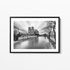 notre dame pendant la crue de janvier 2018 paris framed print photo sebastien desnoulez photographe auteur